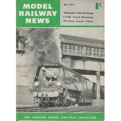 Model Railway News 1955 May