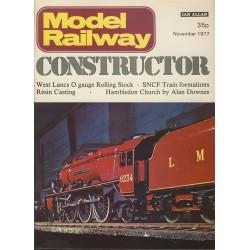 Model Railway Constructor 1977 November