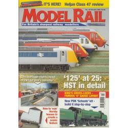 Model Rail 2001 October