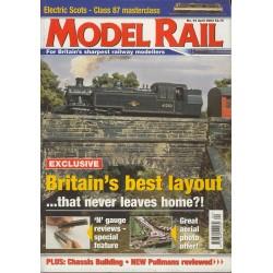 Model Rail 2003 April