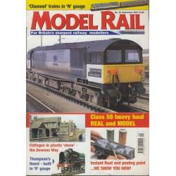 Model Rail 2001 September