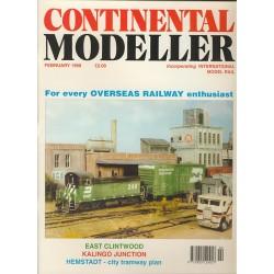 Continental Modeller 1998 February