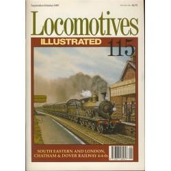Locomotives Illustrated No.115