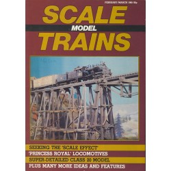 Scale Model Trains 1985 February/March