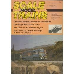 Scale Model Trains 1985 September
