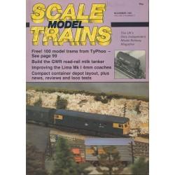 Scale Model Trains 1985 November