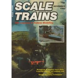 Scale Trains 1983 November