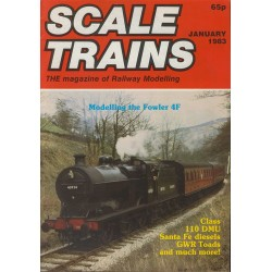 Scale Trains 1983 January
