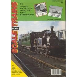 Scale Model Trains 1994 February