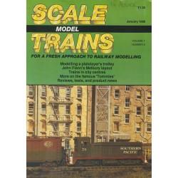 Scale Model Trains 1989 January