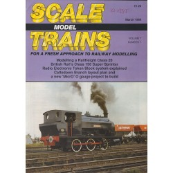 Scale Model Trains 1989 March