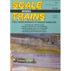 Scale Model Trains 1989 May