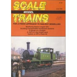 Scale Model Trains 1989 June