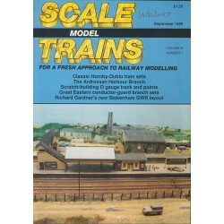Scale Model Trains 1989 September