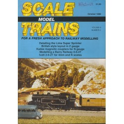Scale Model Trains 1989 October