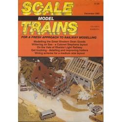 Scale Model Trains 1989 December