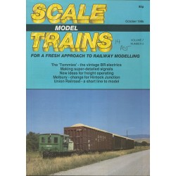 Scale Model Trains 1988 October