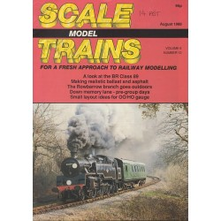 Scale Model Trains 1988 August