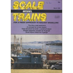 Scale Model Trains 1988 March