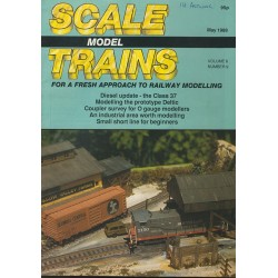 Scale Model Trains 1988 May