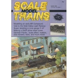 Scale Model Trains 1986 March
