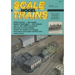 Scale Model Trains 1986 May