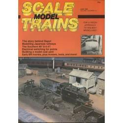 Scale Model Trains 1986 June