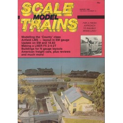 Scale Model Trains 1986 August