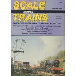 Scale Model Trains 1986 September