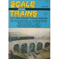 Scale Model Trains 1986 October