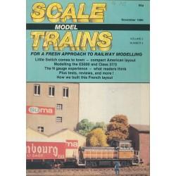Scale Model Trains 1986 November