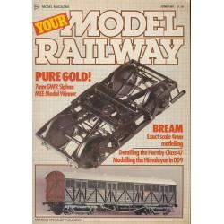 Your Model Railway 1987 June