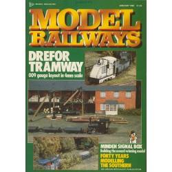 Model Railways 1989 January