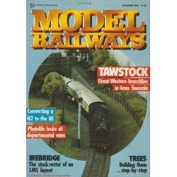 Model Railways 1988 December