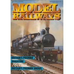 Model Railways 1987 September