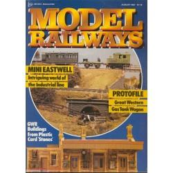 Model Railways 1987 August