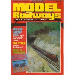 Model Railways 1984 June