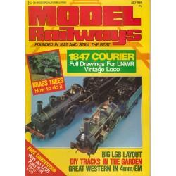 Model Railways 1984 July