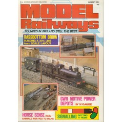 Model Railways 1984 August