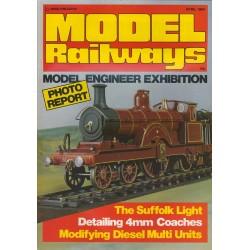 Model Railways 1984 April