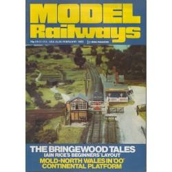 Model Railways 1983 February