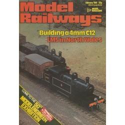 Model Railways 1981 February