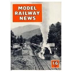 Model Railway News 1958 June