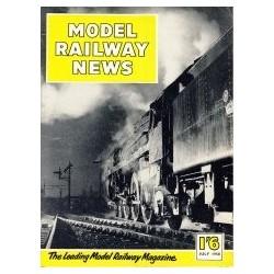 Model Railway News 1958 July