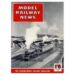 Model Railway News 1958 February