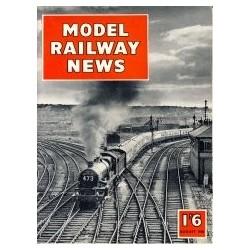 Model Railway News 1958 August