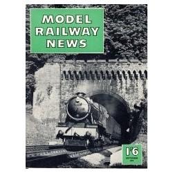 Model Railway News 1957 September