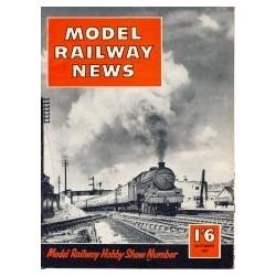 Model Railway News 1957 October