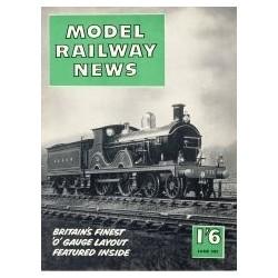 Model Railway News 1957 June