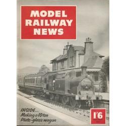 Model Railway News 1957 January